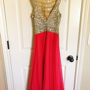 Tiffany Designs Dresses - BEAUTIFUL PROM/PAGEANT GOWN, SIZE 2